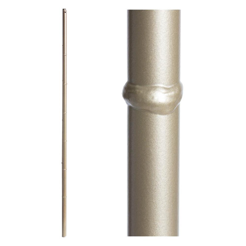 16.8.14 Bamboo Round Hollow Iron Baluster - Cheap Stair Parts