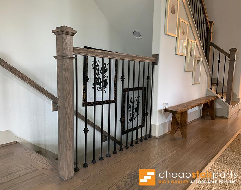 16.1.35-T Double Knuckle Hollow Iron Baluster Iron Baluster House of Forgings