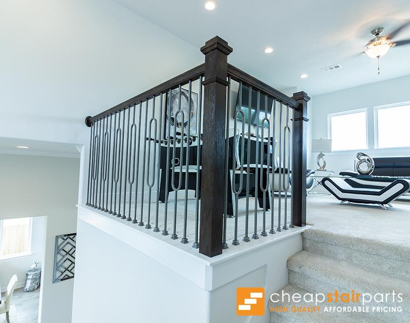 16.6.2 Single Oval Hollow Iron Baluster House of Forgings