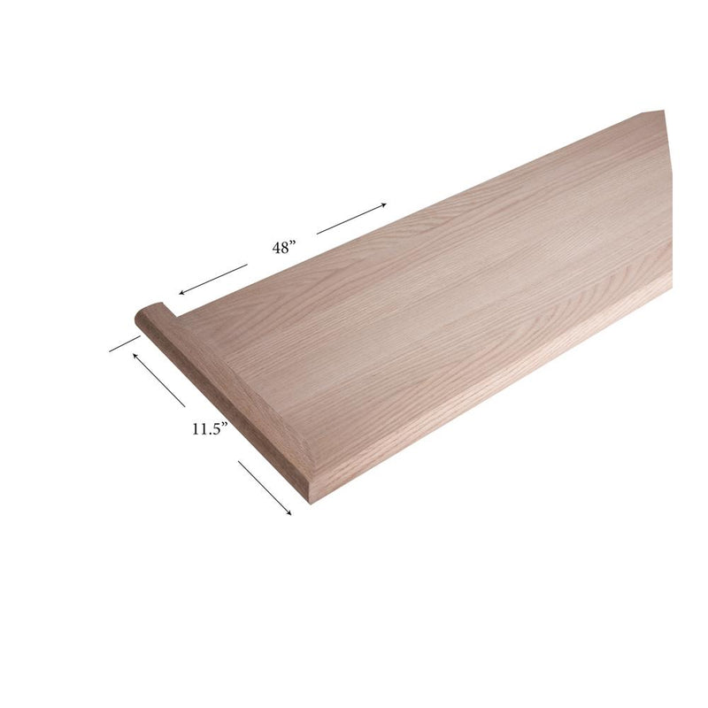 8070-MR 48″ Mitered Return – Left Hand