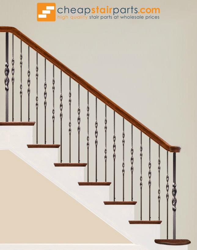 16.1.5 Single Ribbon Iron Baluster - Cheap Stair Parts