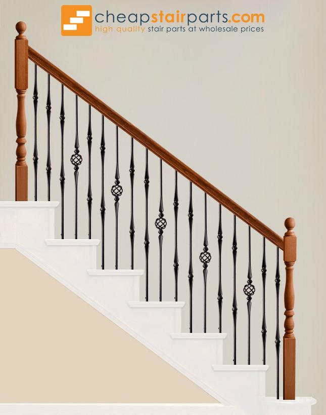 2.11.16-T Single Basket Hollow Baluster - Cheap Stair Parts