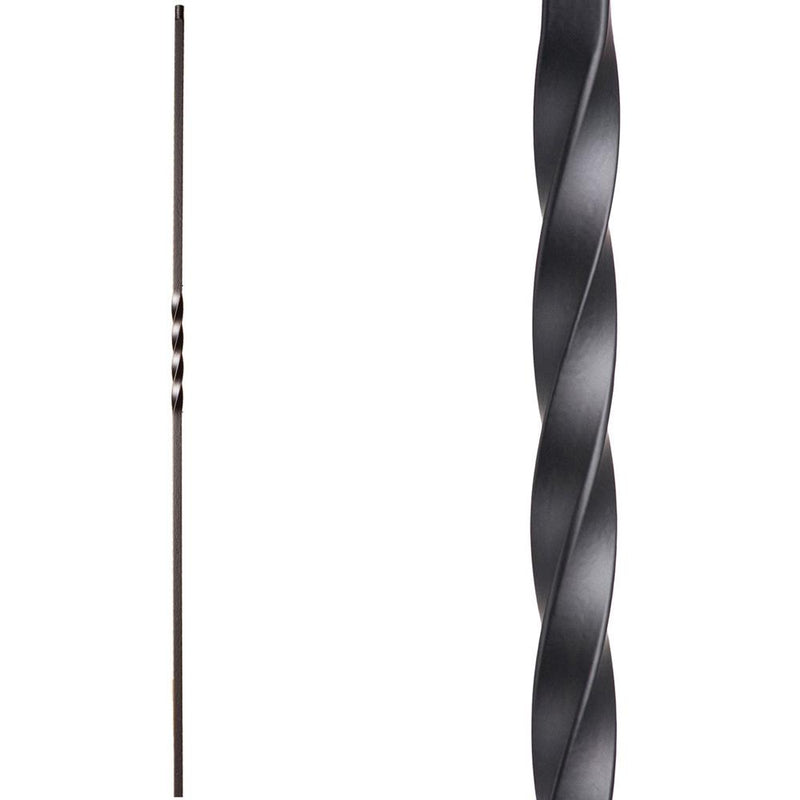 16.1.1 Single Twist Iron Baluster Iron Baluster House of Forgings