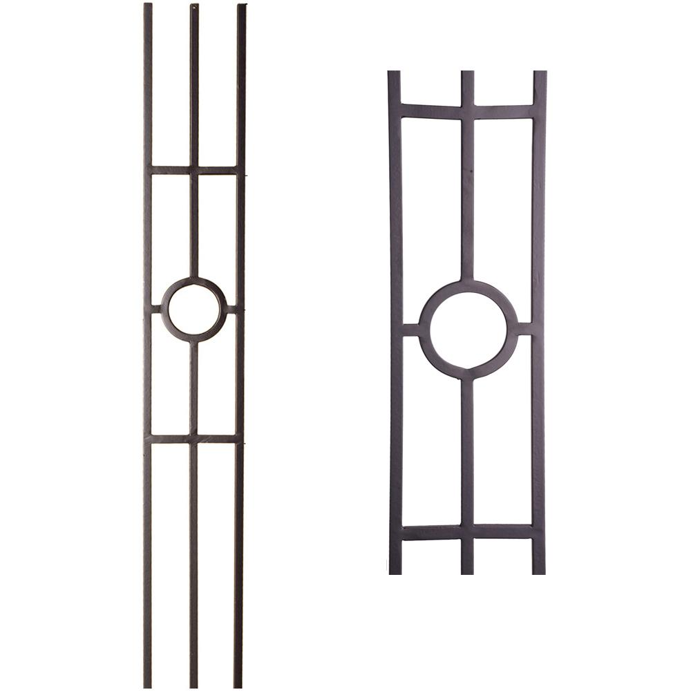 Exceptionnel 16.1.32 Single Ring 3 Legged Panel   Cheap Stair Parts ...