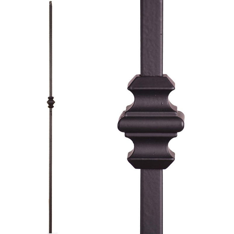 16.1.34-T Single Knuckle Hollow Iron Baluster - Cheap Stair Parts