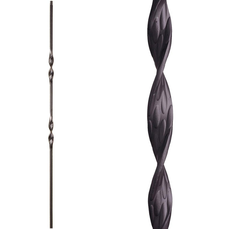 16.1.6 Double Ribbon Iron Baluster - Cheap Stair Parts