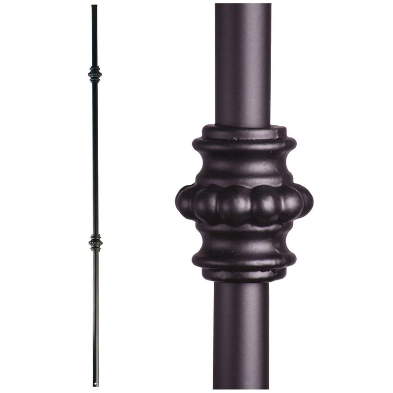 16.8.3 Double Knuckle Hollow Iron Baluster - Cheap Stair Parts