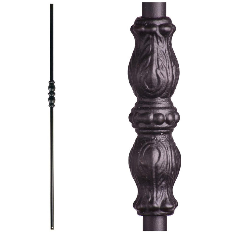 16.8.5 Long Single Knuckle Hollow Iron Baluster Iron Baluster House of Forgings