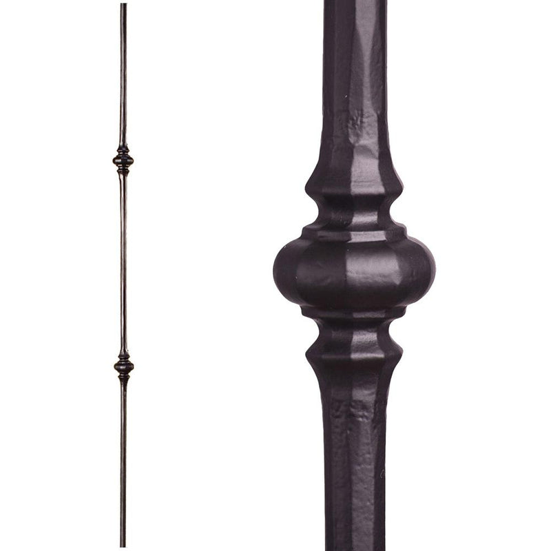 2.1.11 Double Knuckle Iron Baluster - Cheap Stair Parts