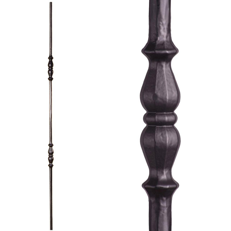 2.1.7 Double Knuckle Iron Baluster Iron Baluster House of Forgings