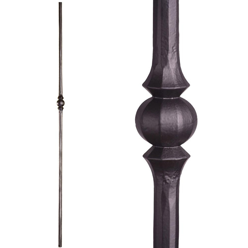2.10.2 Single Sphere Iron Baluster - Cheap Stair Parts