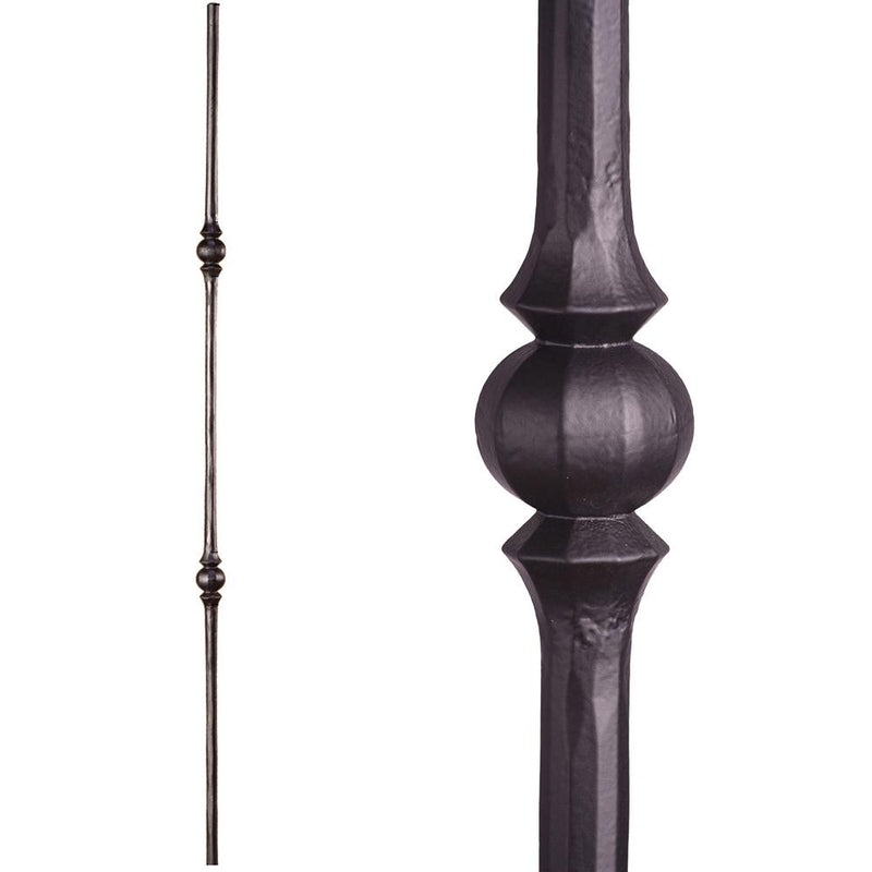 2.10.3 Double Sphere Iron Baluster - Cheap Stair Parts