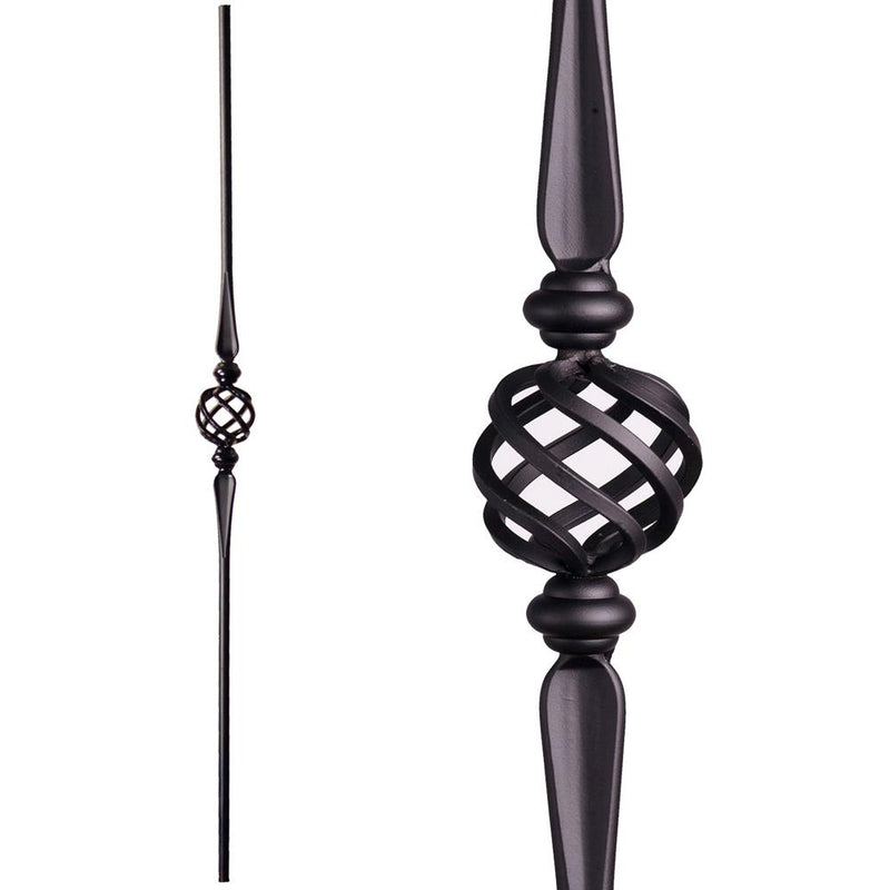 2.11.16 Single Basket Baluster Iron Baluster House of Forgings