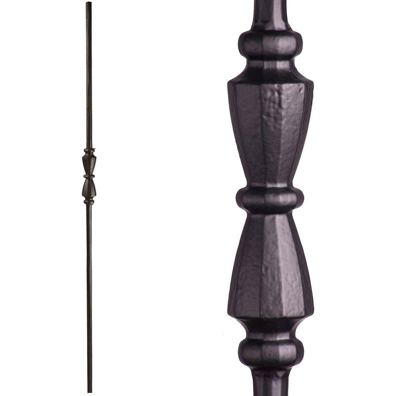 2.11.40 Single Hourglass Iron Baluster Iron Baluster House of Forgings