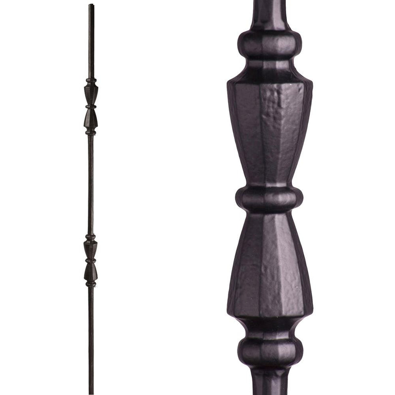 2.11.41 Double Hourglass Iron Baluster - Cheap Stair Parts