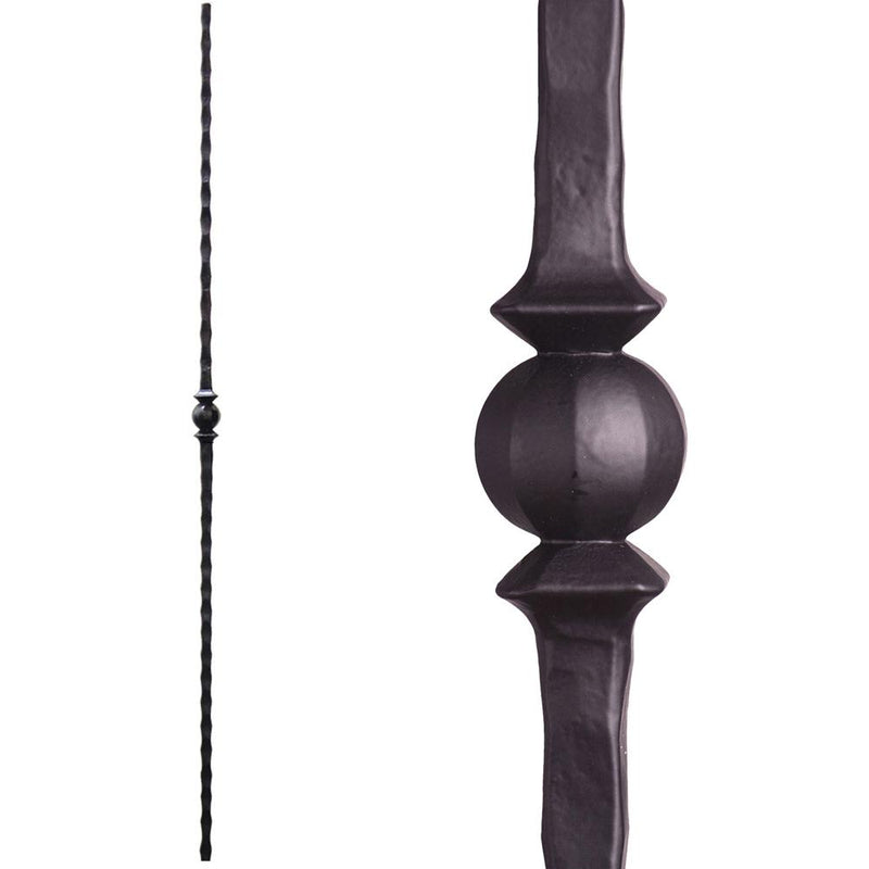 2.9.28 Single Sphere Iron Baluster Iron Baluster House of Forgings