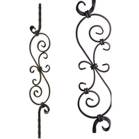 2.9.8 Large Spiral Scroll Iron Baluster Iron Baluster House of Forgings