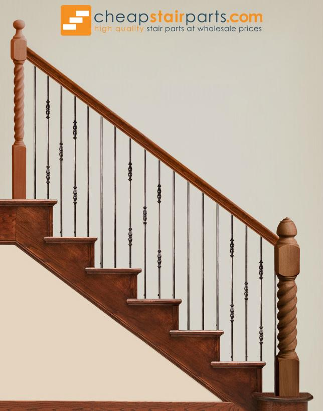 2.1.7 Double Knuckle Iron Baluster - Cheap Stair Parts