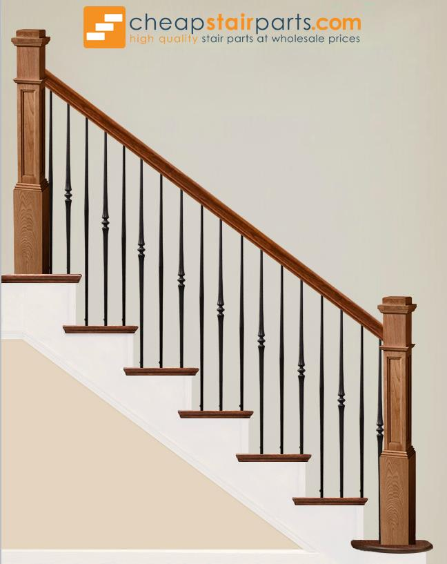 Exceptionnel ... 2.6.8 Plain Tapered Bar Iron Baluster   Cheap Stair Parts