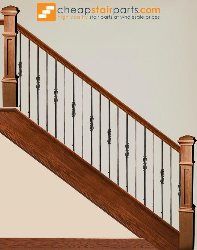 2.11.40 Single Hourglass Iron Baluster - Cheap Stair Parts
