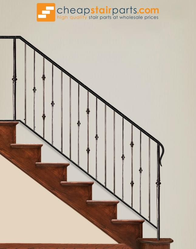 2.1.9 Single Knuckle Iron Baluster - Cheap Stair Parts