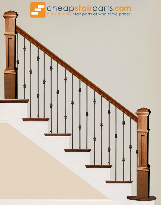 ... 16.1.34 T Single Knuckle Hollow Iron Baluster   Cheap Stair Parts