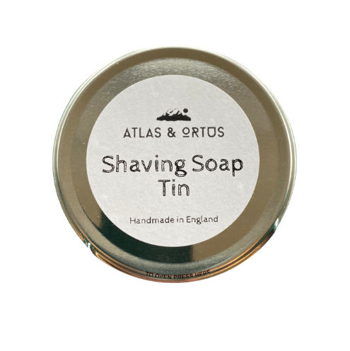 Shaving Soap - Tin