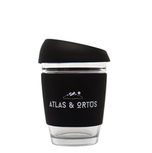 Glass Coffee Cup - Black