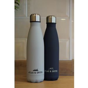 Stainless Steel Bottle - Grey