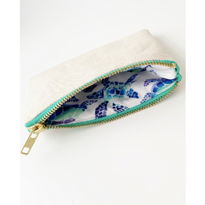 The Turtle Collection Cream Purse