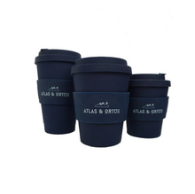 Bamboo Coffee Cup - Navy (Multiple sizes available)