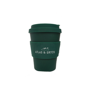 Bamboo Coffee Cup - Green (8oz, 12oz or 14oz)