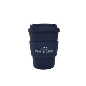 Bamboo Coffee Cup - Navy (8oz, 12oz, 14oz)