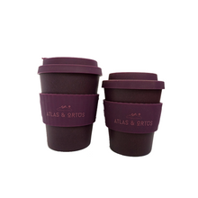 Bamboo Coffee Cup - Purple (8oz or 12oz)