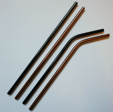 Stainless Steel Straw - multiple colours available