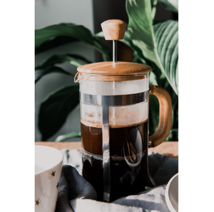 Bamboo Cafetiere/French Press