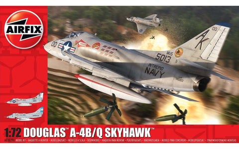Douglas A-4B/Q Skyhawk 1:72 Model Kit