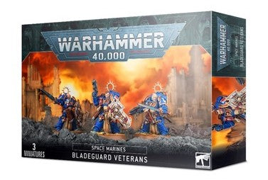 Space Marines: Bladeguard Veterans