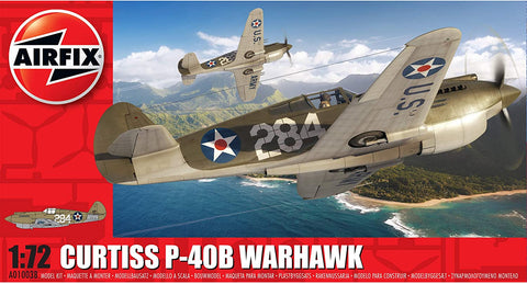 Curtiss P-40B Warhawk Model Kit