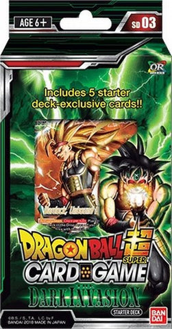 Dragonball Super Card Game: Starter Deck Dark Invasion SD03