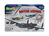 Icons of Aviation British Legends Gift Set 1/72 Scale Kit