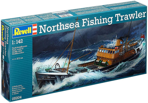 North Sea Trawler Model Kit