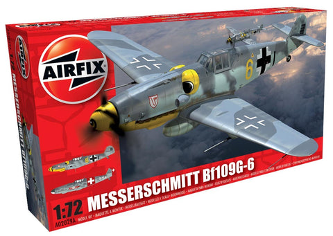 Messerschmitt Bf109G-6 1:72 Model Kit