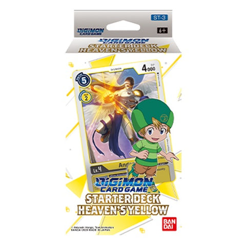 Digimon Card Game - Starter Deck Heavens Yellow ST-3