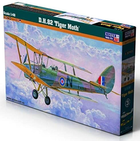 1:48 Scale DH 82 TIGER MOTH