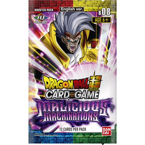 Dragon Ball Super Card Game Malicious Machinations Booster