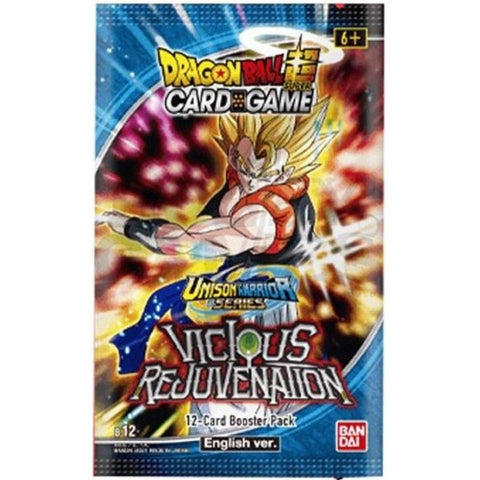 Dragonball Super Card Game: Unison Warrior 3: Vicious Rejuvenation Booster
