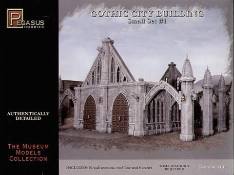 GOTHIC CITY BUILDING SET 1