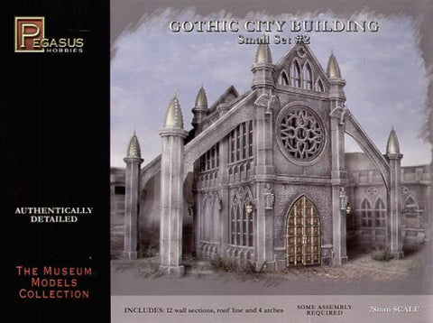 GOTHIC CITY BUILDING SET 2
