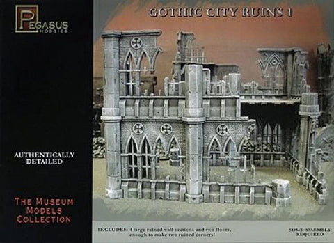 Gothic City Ruins 1